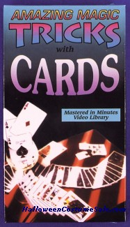VIDEO MAGIC TRICKS WITH CARDS