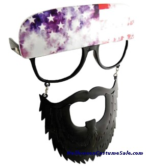 BLACK SUNSTACHE BEARD CL