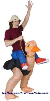 OLLIE OSTRICH INFLATABLE COSTUME