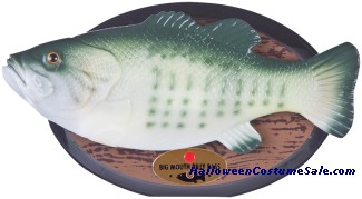 BIG MOUTH BILLY BASS PLAQUE