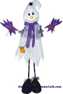 28 INCH STANDING SCARECROW GHOST PROP