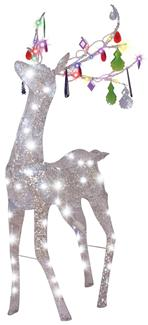 JEWELED CRYSTAL CHANDLE DEER