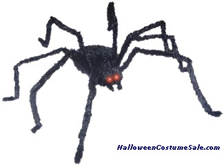 BLACK ANIMATED SPIDER PROP