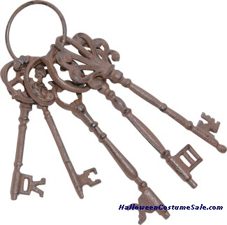 IRON LOCK AND KEY ASSORTMENT PROP
