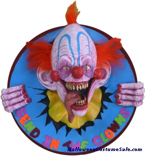 SEND IN THE CLOWNS WALL PLAQUE