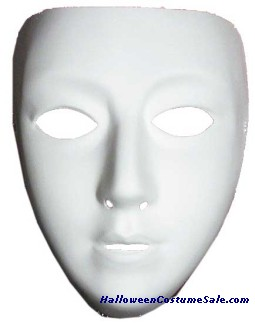 BLANK FEMALE MASK
