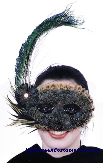 MASK, FEATHER 20S STYLE