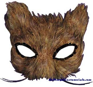 MASK,CAT FEATHER NATURAL