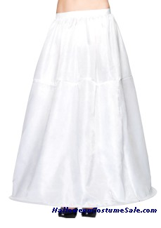 LONG HOOP SKIRT ADULT COSTUME