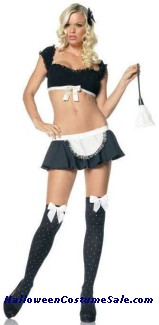 Adult Frenchie Maid Costume