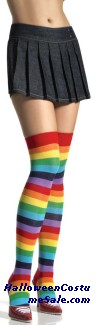THIGH HIGH, RAINBOW ADULT