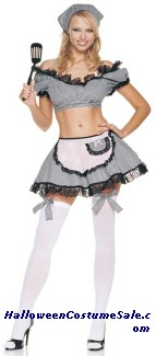 NAUGHTY HOUSEWIFE COSTUME