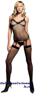 CAMI GARTER G STRING THIGH HIGH
