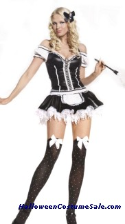 FRENCH MAID 2 PC  ADULT COSTUME