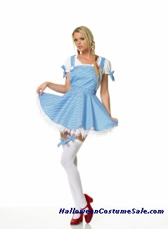 DOROTHY APRON DRESS SET COSTUME