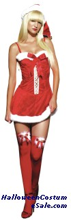 MISSY CLAUS HOLIDAY DRESS