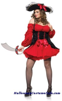 Vixen Pirate Wench Plus Size Adult Costume