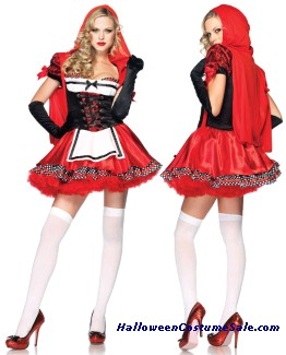 DIVINE MISS RED ADULT COSTUME
