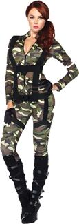 PRETTY PARATROOPER ADULT COSTUME