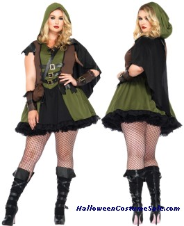DARLING ROBIN HOOD ADULT PLUS SIZE COSTUME