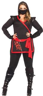 NINJA ASSASSIN 4 PC ADULT COSTUME
