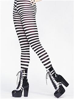 TIGHTS STRIPED PLUS SIZE