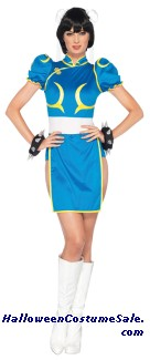STREET FIGHTER CHUN LI ADULT COSTUME
