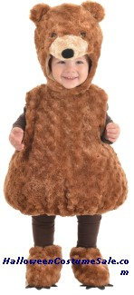 TEDDY BEAR TODDLER COSTUME