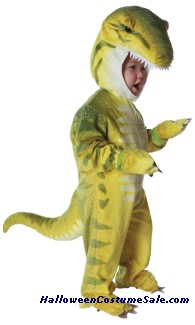 T REX GREEN TODDLER COSTUME