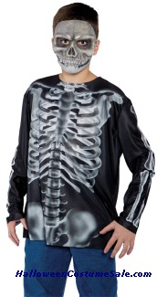 X-RAY SHIRT CHILD COSTUME