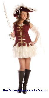 Adult Treasure Costume with Hat