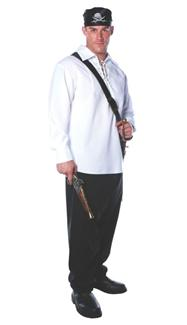 PIRATE SHIRT PLUS SIZE ADULT COSTUME