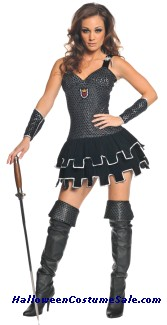 ALL KNIGHT WOMENS ADULT COSTUME