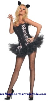 SEXY KITTY ADULT COSTUME