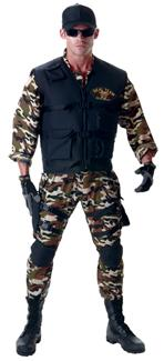 SEAL TEAM DELUXE TEEN/ADULT COSTUME