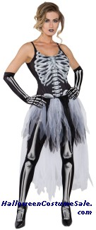 SEXY SKELETON ADULT COSTUME