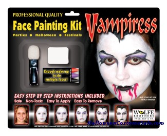 Female Vampire Makeup Kit