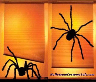 SHADY SPIDERS WOW WINDOWS POSTER