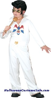 ELVIS CHILD WHITE JUMPSUIT