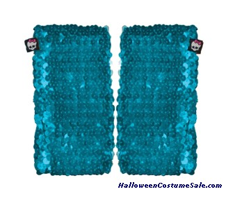 MONSTER HIGH BLUE SEQUIN CHILD ARM WARMER