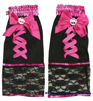 MONSTER HIGH FANGTASTIC CHILD LEG WARMER