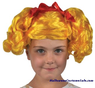 LALALOOPSY SPOT SPLATTER CHILD WIG