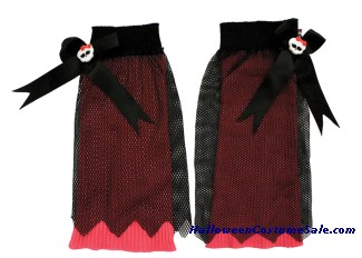 MONSTER HIGH CREEPERIFIC CHILD LEG WARMER