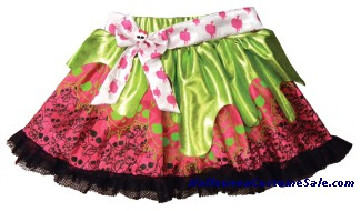 MONSTER HIGH PINK & GREEN CHILD PETTISKIRT