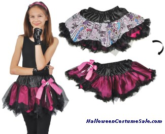 MONSTER HIGH CHILD REVERSIBLE PETTISKIRT