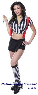 ROWDY REFEREE ADULT COSTUME