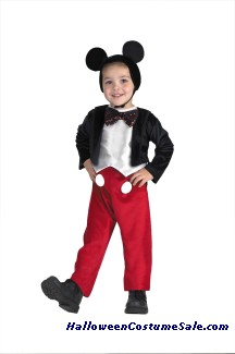 DELUXE MICKEY MOUSE CHILD COSTUME