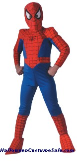 SPIDERMAN COMIC DELUXE CHILD COSTUME