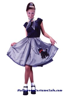 BOBBY SOXER ADULT COSTUME
