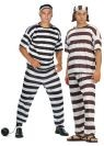 "Convict costume includes top, pants & cap. Costume also available in Plus Size (<a href=""/CONVICT-MAN-COSTUME,-PLUS-SIZE-Grp-123Z85008.aspx"">Z85008</a>)."